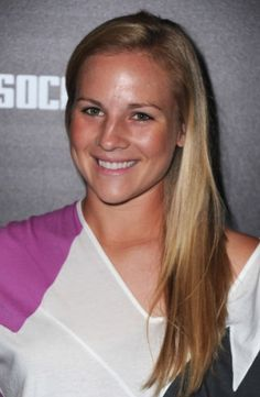 (Photograph: Twitter/Amy Rodriguez)  Amy Rodriguez is a professional Soccer Player for the USA Women's National Team.