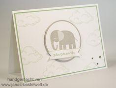 Janas Bastelwelt - Unabhängige Stampin' Up! Demonstratorin: Elefantenbaby