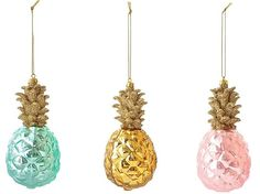 pineapple tropical christmas tree decorations