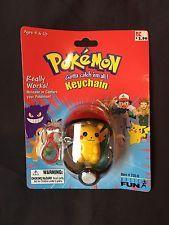 Baisc Fun 1998 Pokemon Pikachu keychain mint on sealed card  get it http://ift.tt/2irh04r pokemon pokemon go ash pikachu squirtle