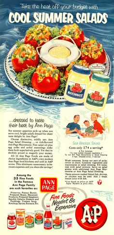 "Ann Page Seabreeze Salad Recipe from ""Woman's Day"" 