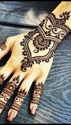 arabic mehndi designs for bride relatives 04 - Henna Muster Fur Anfanger