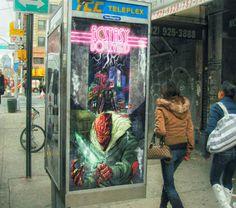 Movie poster for the sci-fi short Ecstasy Boulevard  Watch here: http://cli.re/xtcblvd #XTCBLVD #Cyberpunk #MoviePoster #Advertising #MusicVideo #DigitalPainting #Marketing #SciFi #ShortFilm #Cybergrunge