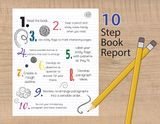 Write a book report in 10 steps.