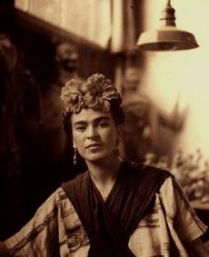 """I hate having people worry about me and I hate to be pitied. There's something devilish and cruel about pity but mostly it's all empty…""  - Frida Kahlo, from a letter"