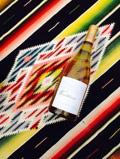 "Venteux- 2012 Fleur Blanc (70% Viognier, 25% Grenache Blanc, 5% Marsanne). Westside Paso Robles AVA, in the ""Templeton Gap.""  A red wine drinkers white!"