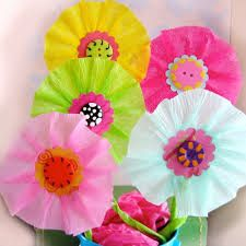How to make paper poppy flowers crepe paper summer crafts and how to make paper poppy flowers crepe paper summer crafts and tutorials mightylinksfo