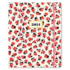 2014 kate spade new york 17 month agenda - rose