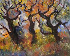 Sherwood Trees in Sunlight by Jeremy Mayes