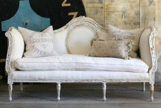 French Chic Sofa  LOVE