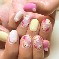#nails#nailart#naildesigns#flowernails#springnails#nailclub#nailswag#nailporn#cutenails#gelnails#ネイル#ネイルアート#ジェルネイル#ジェル#ネイルサロン#春ネイル#ネイリスト#ネイルデザイン#フラワーネイル#指甲#美甲#젤네일#네일#パステル