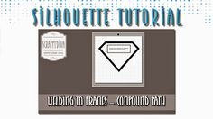 In this Silhouette Studio tutorial, I teach you how to create a compound path to weld letters or...