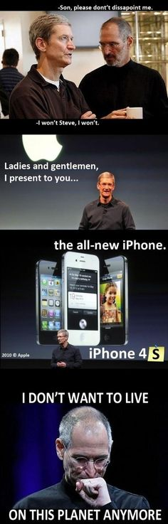R.I.P Steve Jobs  - funny pictures - funny photos - funny images - funny pics - funny quotes - #lol #humor #funny