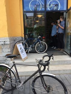 Coolest bike shop in Tallinn. And not only a shop, you can call it a cycling culture club. Guys running the shop are making the most important bike events happen in town. Tallinn Bicycle Week. Bikes. Advice. Coffee. Events.