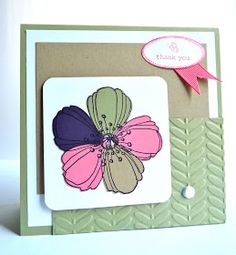 Welcome to the Love of Flowers: CTD241 - Paper pieced flower...