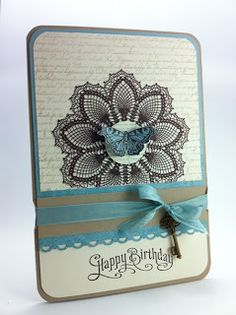 Hello Doily - Stampin Up!
