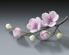 3 flores de pasta de goma orquídea tropical para bodas y