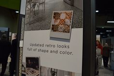 """Mannington's new flooring is all about """"The Shape of Things to Come.""""  Dealers, see why in our Surfaces booth #1309. #TISE2017"""