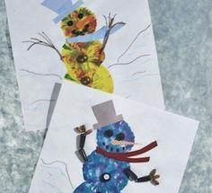 Crafts: Balloon Snowmen | Scholastic.com