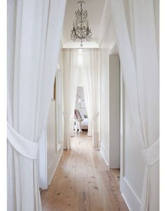 Good treatment of a narrow hallway, more feng shui tips here: http://fengshui.about.com/od/fengshuihouseplantips/f/feng-shui-tips-long-hallway.htm It softens it and create a soothing feeling, no? More tips: http://FengShui.About.com