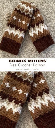 Crochet Mittens Pattern, Crochet Gloves, Knit Or Crochet, Crochet Gifts, Crochet Scarves, Crochet Hooks, Free Crochet, Knitting Patterns, Crochet Patterns