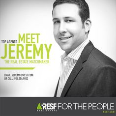 RESF's Meet Agent Campaign Jeremy Milgroom