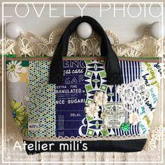 ミリズのプティ☆パ(petit pas):限定3個♪ラストはこちら(୨୧•͈ᴗ•͈)*♡︎ Japanese Bag, Patchwork Bags, Fashion Bags, Purses And Bags, Pouch, Reusable Tote Bags, Sewing, Mini, Handmade