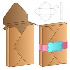 Box packaging die cut Vectors, Photos and PSD files Diy Gift Box, Diy Box, Bag Packaging, Packaging Design, Vintage Logo Design, Vintage Logos, Retro Logos, Vintage Typography, Diy And Crafts