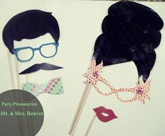 Photobooth Props. $15.00, via Etsy.