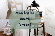 Decoracion Low Cost, Table, Blog, Furniture, Home Decor, Decorating Bedrooms, Chairs, Lack Table, Bedside Tables
