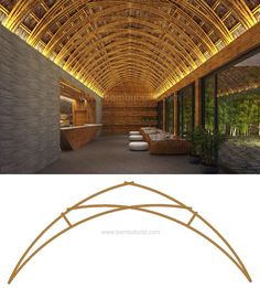 Bamboo Roof, Bamboo Art, Bamboo House, Bamboo Crafts, Blog Architecture, Bamboo Architecture, Tropical Architecture, Amazing Architecture, Roof Design