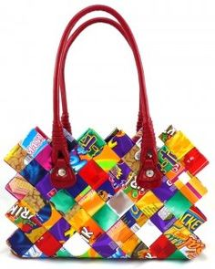 A New Fascinating Trend Is Emerging All Over The World Called Eco Fashion Wrer Purses Are Product Of This Movement Where Recycled