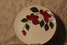 "Blue Ridge Pottery ""Winnie"" Plate from Picsity.com"