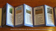 Science Craftivity: Biomes of the World Accordion Book