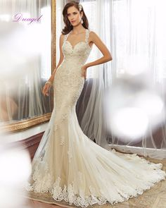 Dreagel Elegant Sweetheart Appliques Beaded Court Train Mermaid Wedding Dress 2017 Sexy Backless Bride Robe De Mariage Plus Size