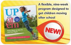 Check out our latest e-book! Perfect for encouraging movement after school. #letsmove