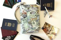 Family passport holder family travel wallet world map travel family passport holder family travel wallet family passport cover travel document holder boarding pass wallet large passport holder gumiabroncs Image collections