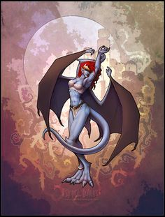Request rules: Check if it's Disney first Check the tags to see if your request has been done in the past two weeks DO NOT use the submit form or fanmail to make a request. Demona Gargoyles, Gargoyles Cartoon, Disney Gargoyles, Arte Disney, Disney Fan Art, Manga Characters, Fantasy Characters, Arte Peculiar, Character Art