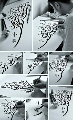 calligraphy Please like, repin and share! Thanks :)