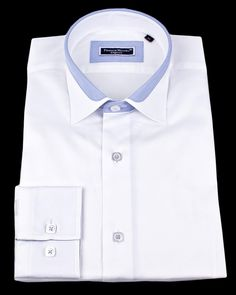 MEN'S FITTED SHIRTS - SHERATON PINK @ $129.00. 100% Cotton with ...