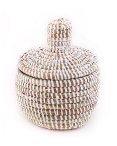 Lidded Mini Basket