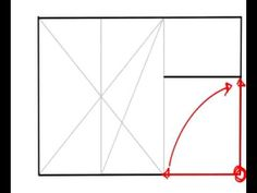 How to create a golden rectangle