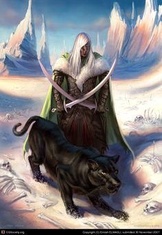 Coolest character in fantasy Dark Fantasy, Fantasy Rpg, Fantasy Books, Medieval Fantasy, Fantasy World, Fantasy Races, Fantasy Warrior, Dungeons And Dragons, Forgotten Realms