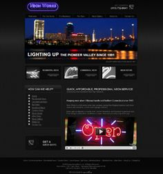 Seo Website Design, Neon Words, Search Engine, Light Up, Design Projects, Neon Signs