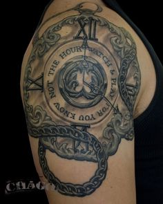 1 Pocket watch tattoo
