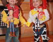 Woody and Jessie Costumes / Dolls