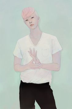Dreamy Illustrations of Enigmatic Young People by Jo In Hyuk - My Modern Metropolis