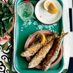 """""""In the summer, there are festivals throughout Galicia to celebrate the sardine season,"""" says Janet Mendel. """"The sardines are so popular that, after e..."""