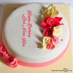 55 Best Name Birthday Cakes For Lover Images Birthday Cakes Cake