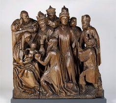 The Adoration of the Magi, Utrecht, ca. 1460  Utrecht, Museum Catharijneconvent, BMH bh144